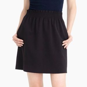J. Crew Wool Blend Black Skirt Size 10